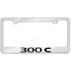 Chrysler 300C Solid Brass License Plate Frame