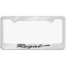 Regal Solid Brass License Plate Frame