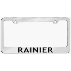 Rainier Solid Brass License Plate Frame