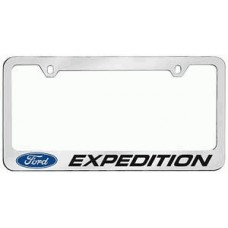 Expedition Solid Brass License Plate Frame