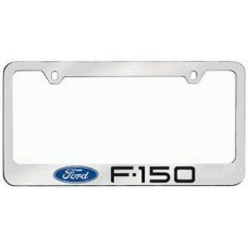 F-150 Solid Brass License Plate Frame
