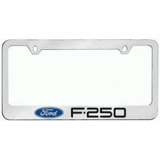 F-250 Solid Brass License Plate Frame