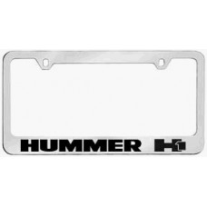 H1 Solid Brass License Plate Frame