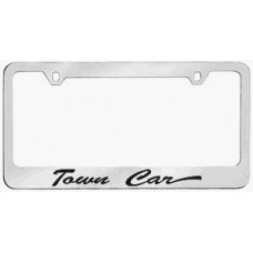 Lincoln Town Car Solid Brass License Plate Frame