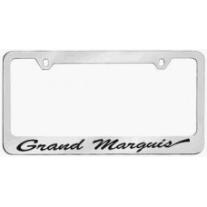 Mercury Grand Marquis Solid Brass License Plate Frame