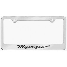 Mercury Mystique Solid Brass License Plate Frame