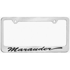 Mercury Marauder Solid Brass License Plate Frame