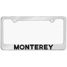 Mercury Monterey Solid Brass License Plate Frame