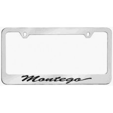 Mercury Montego Solid Brass License Plate Frame