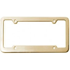 Gold 4 Hole Medium Top and Wide Bottom Frame