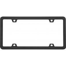 Neo Black License Plate Frame