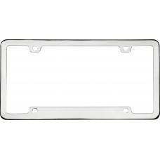 Neo Sport Chrome License Plate Frame