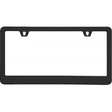 Neo Classic Black License Plate Frame
