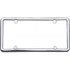 Classic Lite Chrome License Plate Frame