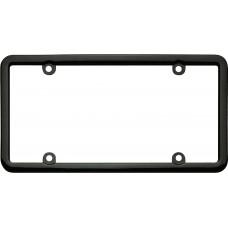 Classic Lite Black License Plate Frame
