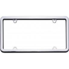 Classic Chrome License Plate Frame