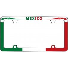 Mexico Chrome License Plate Frame