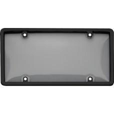 Combo Black/Smoke License Plate Shield