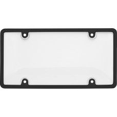 Tuf Combo Black/Clear License Plate Shield