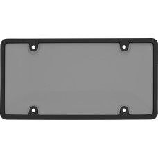 Tuf Combo Black/Smoke License Plate Shield
