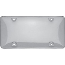 Bubble Clear License Plate Shield