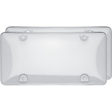 Double Bubble Valu-Pak Clear License Plate Shield