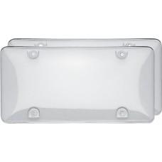 Double Bubble Valu-Pak Clear License Plate Shield