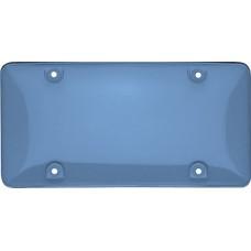 Tuf Bubble Shield Blue License Plate Shield