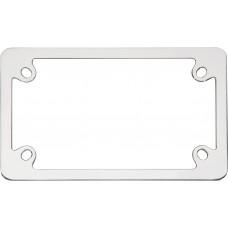 MC Neo Chrome License Plate Frame