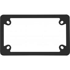 MC Neo Black License Plate Frame