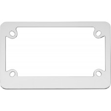 MC Classic Chrome License Plate Frame