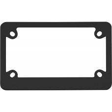 MC Classic Black License Plate Frame