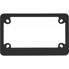 MC Classic Black License Plate Frame