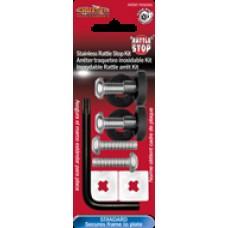 Stainless Rattle Stop Kit - Standard Star Pin Locking Fasteners