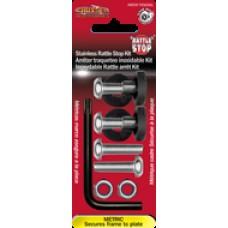 Stainless Rattle Stop Kit - Metric Star Pin Locking Fasteners