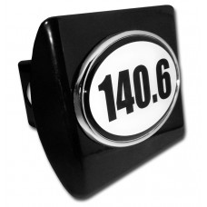 140.6 Logo on Black Hitch Cover