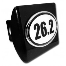 26.2 Logo on Black Hitch Cover