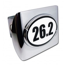 26.2 Logo on Chrome Hitch Cover