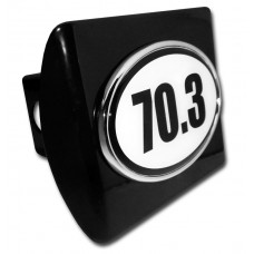 70.3 Logo on Black Hitch Cover