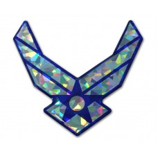 Air Force Wings Color Bling Emblem