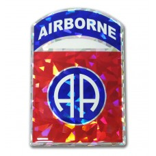 Army 82nd Airborne Color Bling Emblem