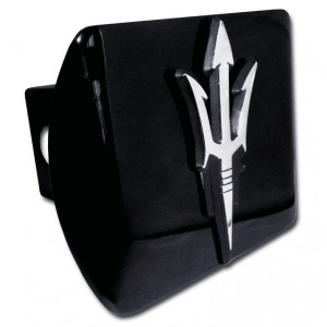 Arizona State Logo on Black Hitch Cover
