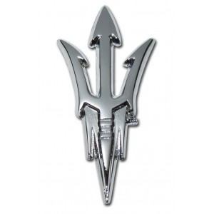 Arizona State Chrome Emblem