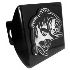 Bass on Black Hitch Cover