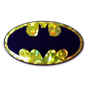 Batman Logo Color Bling Batman Emblem