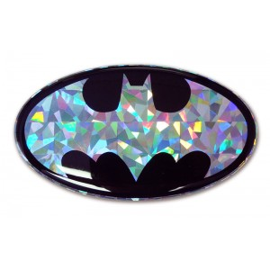Batman Logo Silver Bling Batman Emblem