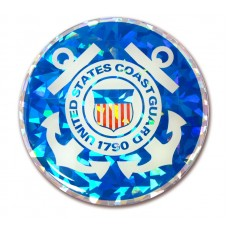 Coast Guard Color Bling Emblem