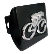 Cycling Logo on Black Hitch Cover