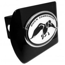 Duck Commander Oval Logo on Black Hitch Cover