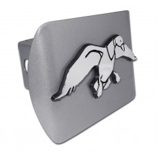 Duck Commander Logo on Brushed Steel Hitch Cover